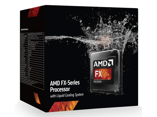 AMD FX-9590 with Water Cooling System
