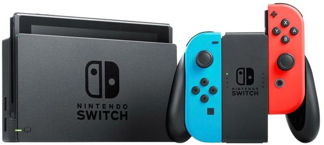 Nintendo Switch (Neon Blauw, Neon Rood)
