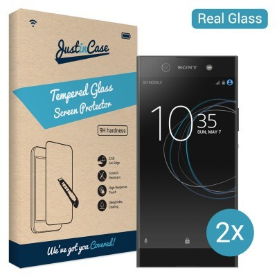 Just in Case Tempered Glass Sony Xperia XA1 Ultra - 2 pack