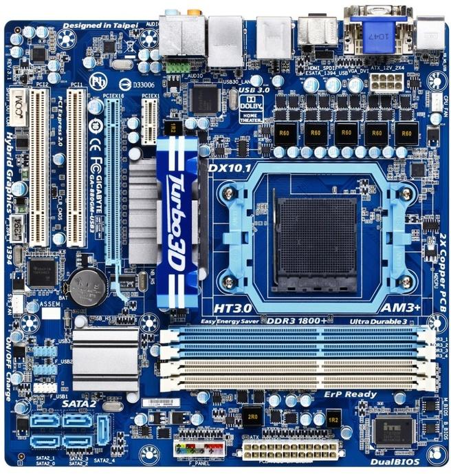 Gigabyte GA-880GM-USB3 (rev. 3.1)