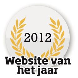 Website van het Jaar 2012