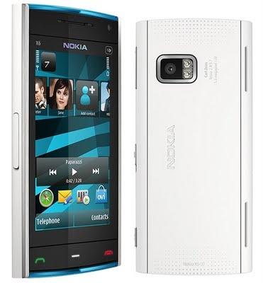Nokia X6 Wit