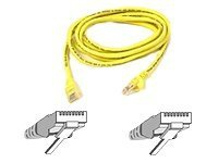 Belkin Patch cable - RJ-45(M) - RJ-45(M) - 15m - UTP ( CAT 5e ) - Yellow