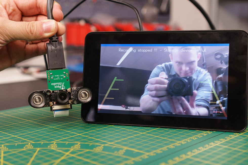 Android Auto achteruitrijcamera