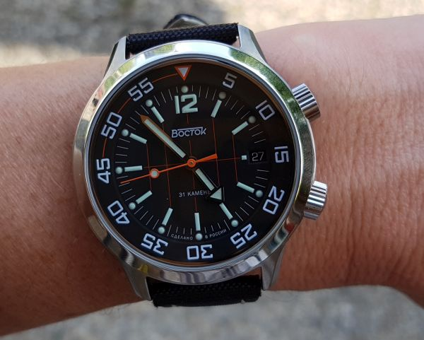 Vostok Amphibia Compressor  From Russia with love   Watches 8053fa3a23