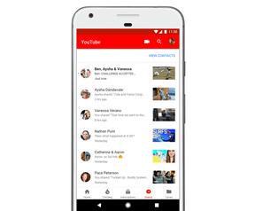 YouTube app chatfunctie