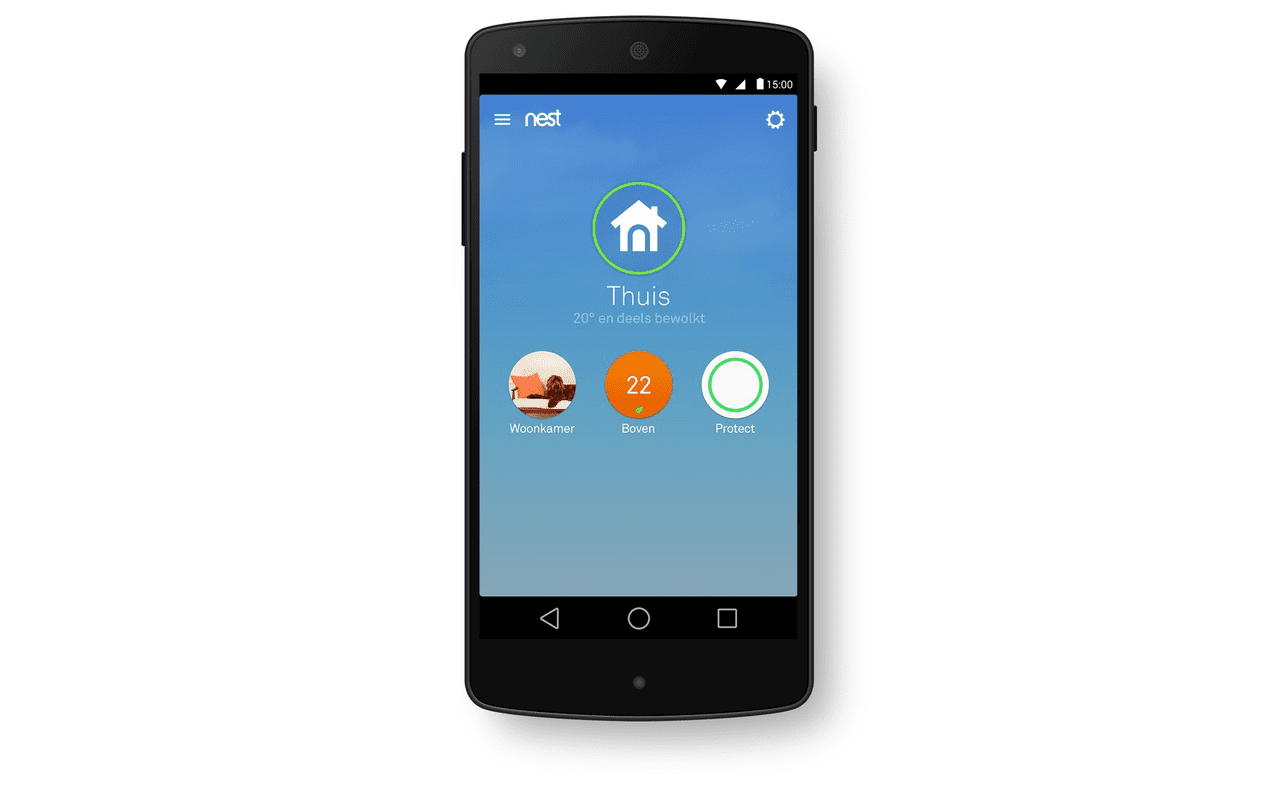 Nest app Home Away Family