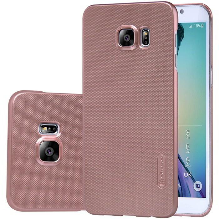 Nillkin Frosted Shield HardCase Samsung Galaxy S6 Edge+ Rosé Goud