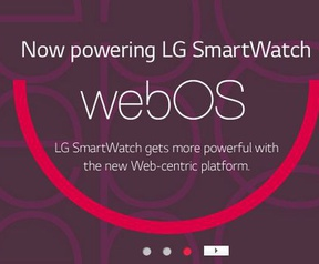 LG WebOS SmartWatch-site