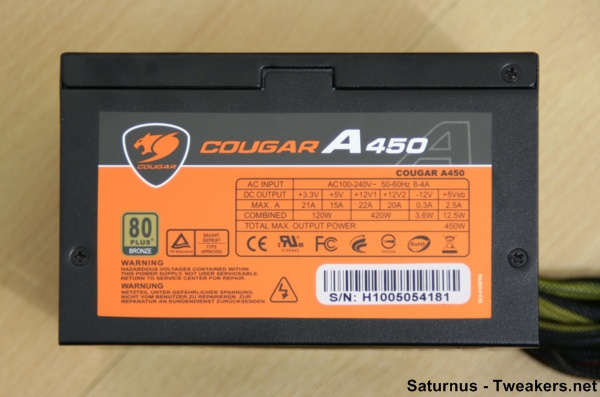 7. Cougar A450 Side A