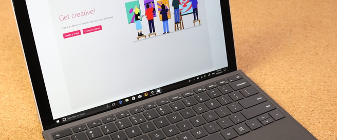 Fall Creators Update Surface