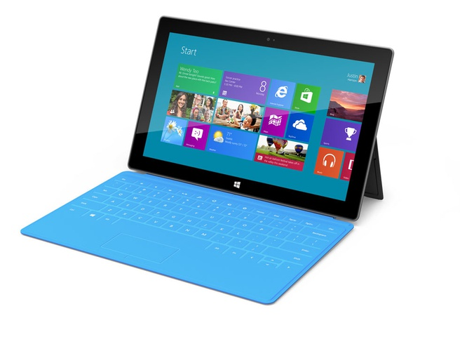 Microsoft Surface Windows 8 Pro Zwart