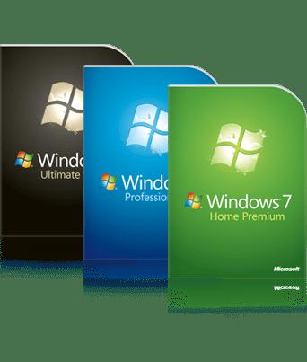 verpakking Windows 7
