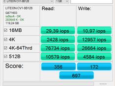 SSD IOPS accu