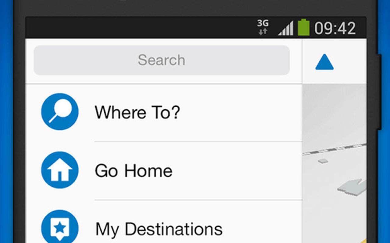 Garmin Víago navigatie-app Android