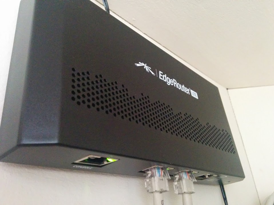 Ubiquiti EdgeRouter Lite 3-Poort Router - Pakjebakmeel