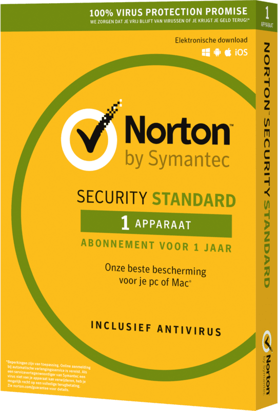 Symantec Norton SECURITY STANDARD 3.0 NL 1 USER 1