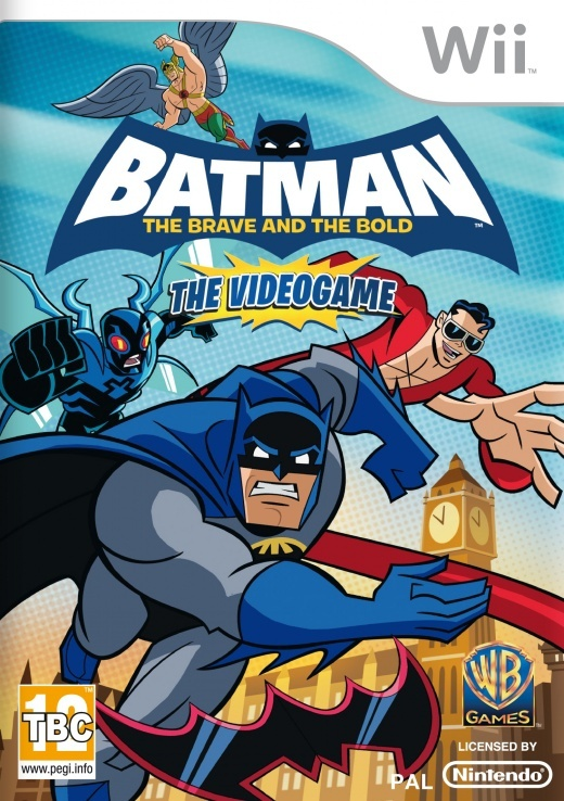 Packshot voor Batman: The Brave and the Bold - The Videogame