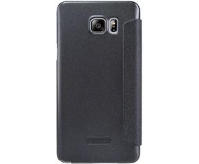 Nillkin Fresh PU Leather Book Case Samsung Galaxy Note 5 - Zwart