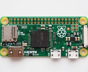 Raspberry Pi Zero met cameraconnector