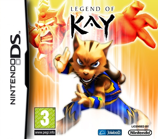 Packshot voor Legend of Kay