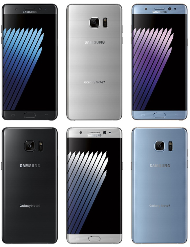 Samsung Galaxy Note 7 render