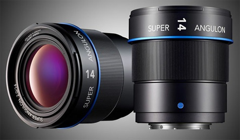 Schneider 14mm f2 Micro Four Thirds lens