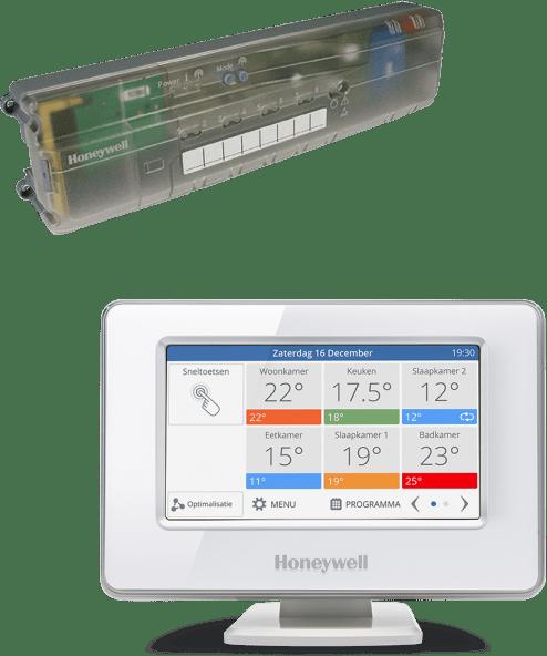 Honeywell EvoHome Vloerverwarming pakket Wi-Fi