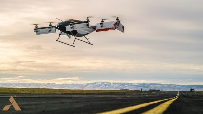 Airbus Vahana testvlucht