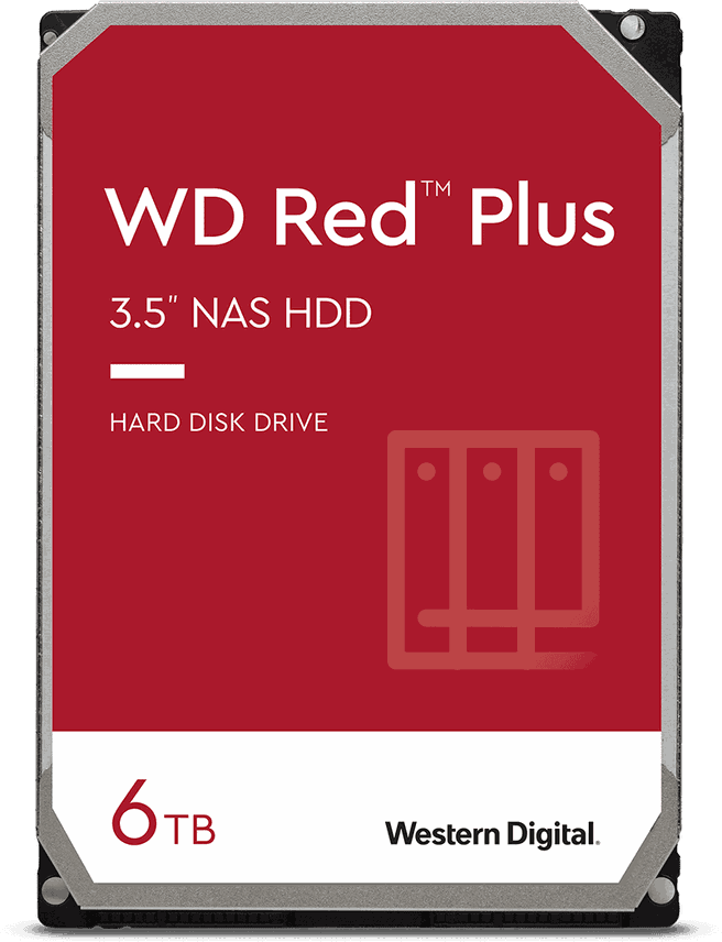 WD Red Plus, 6TB