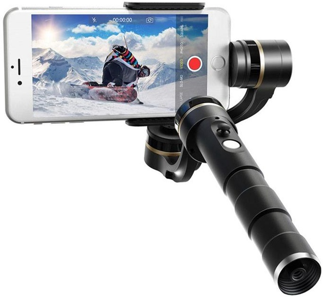 Feiyu Tech G4 Pro 3-Axis Handheld Stabilized Gimbal voor iPhone
