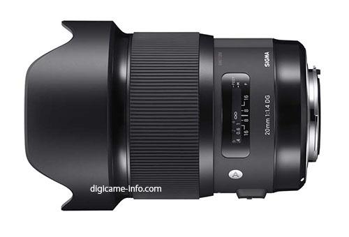 Sigma 20mm f/1.4 Art