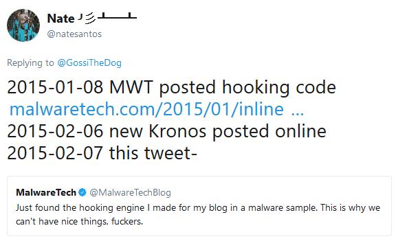 MalwareTech-code in Kronos