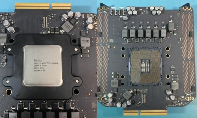 Verwijderbare processor Mac Pro (bron: OWC)