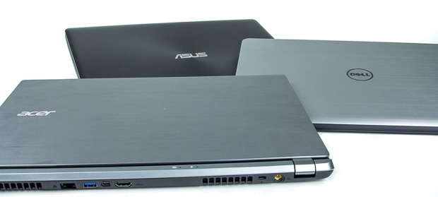Acer, Asus, Dell