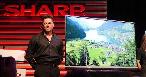 Sharp Aquos 4k prototype CES 2013