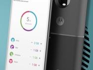 Render vermoedelijke Moto Z3 met 5G Moto Mod
