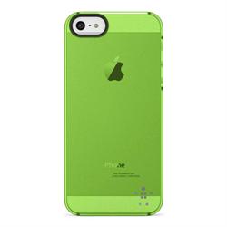 Belkin Belkin Shield Sheer Matte voor iPhone 5, AppelGroen (Apple)