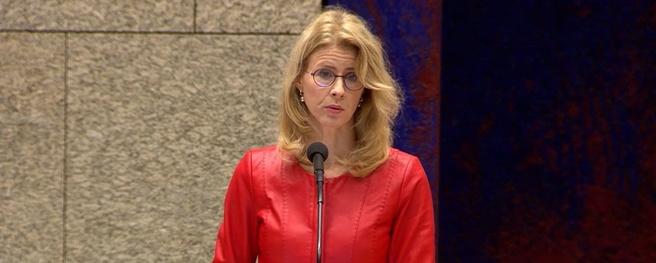 Staatssecretaris Mona Keijzer in debat met Tweede Kamer, 28-11-2018