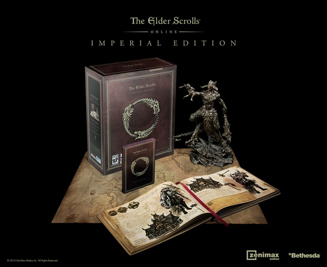The Elder Scrolls Online (Imperial Edition) (DVD-Rom), PC (Windows)