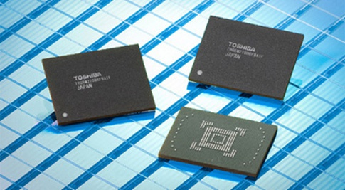Toshiba 128GB-nandchip
