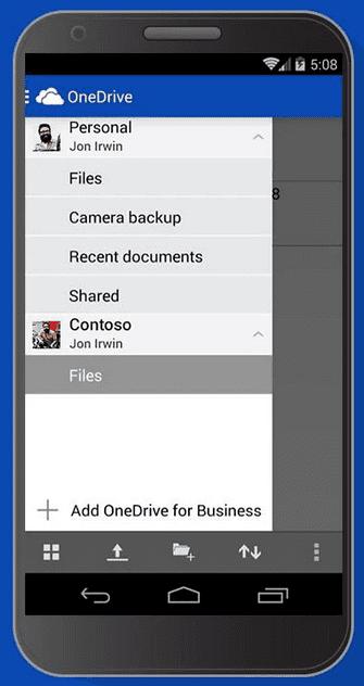 OneDrive-app