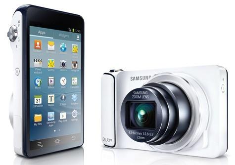 Samsung Galaxy Camera tot slot