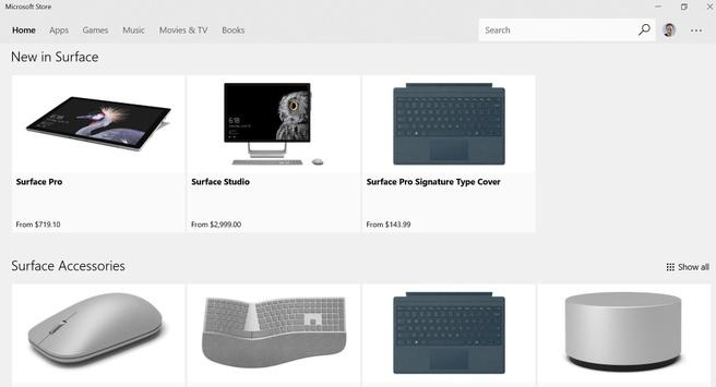 Microsoft Surface Shop