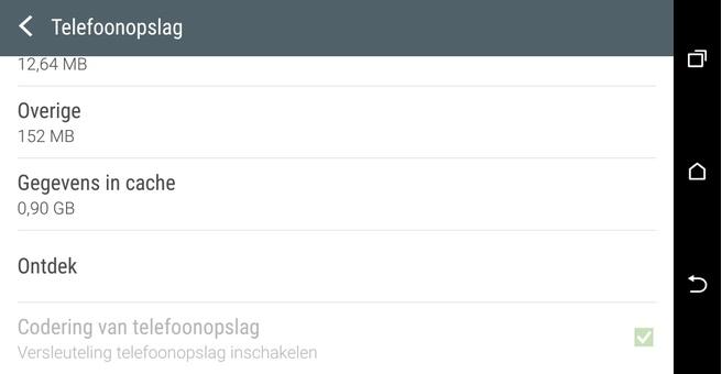 Versleuteling standaard aan in Android 6.0