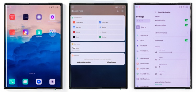 Oppo X 2021 - Software