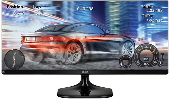 LG 25i 2560x1080 IPS 21:9 5ms 250cd/m2 2xHDMI