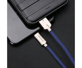 Usams U-Win Series USB 2.0A naar Lightning Kabel (120cm) - Blauw