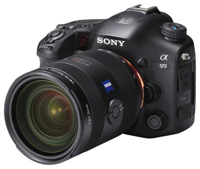 Sony Alpha A99 body top