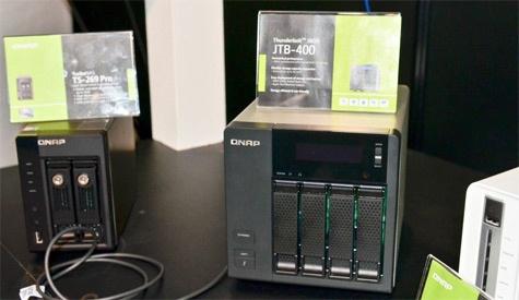 QNAP JTB-400 hdd behuizing Computex 2012